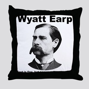 Earp: Accuracy Throw Pillow