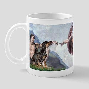 Creation / 2 Dobies Mug