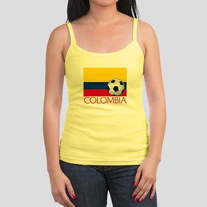 Colombia Soccer / Football Jr. Spaghetti Tank