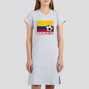 Colombia Soccer / Football Women's Nightshirt