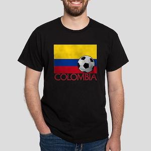 Colombia Soccer / Football Dark T-Shirt