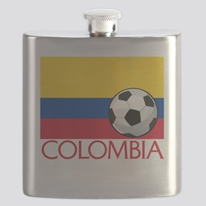 Colombia Soccer / Football Flask