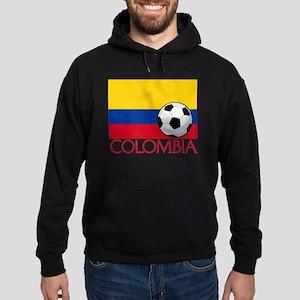 Colombia Soccer / Football Hoodie (dark)