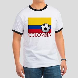 Colombia Soccer / Football Ringer T