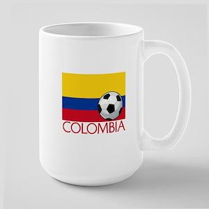 Colombia Soccer / Football Large Mug