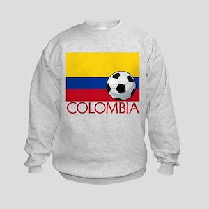 Colombia Soccer / Football Kids Sweatshirt