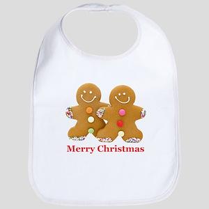 Gingerbread Men Bib