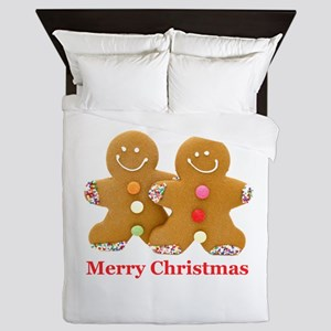 Gingerbread Men Queen Duvet