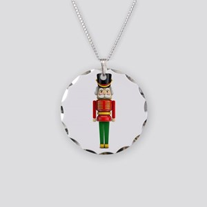 The Nutcracker Necklace Circle Charm