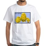 We're Not Food: Chickens White T-Shirt