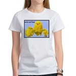 We're Not Food: Chickens Women's T-Shirt