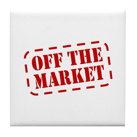Off the Market Tile Coaster