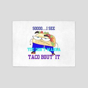 Mr.Taco 5'x7'Area Rug