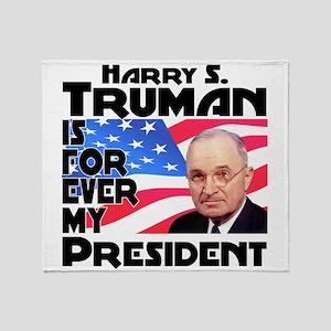Truman 4ever Throw Blanket