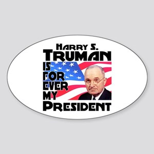 Truman 4ever Sticker (Oval)