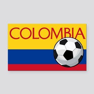 Colombia Soccer / Football Rectangle Car Magnet