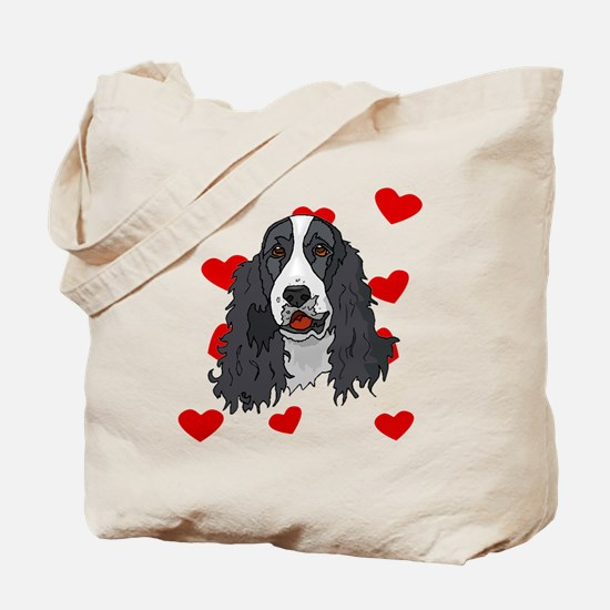 Springer Spaniel Love Tote Bag