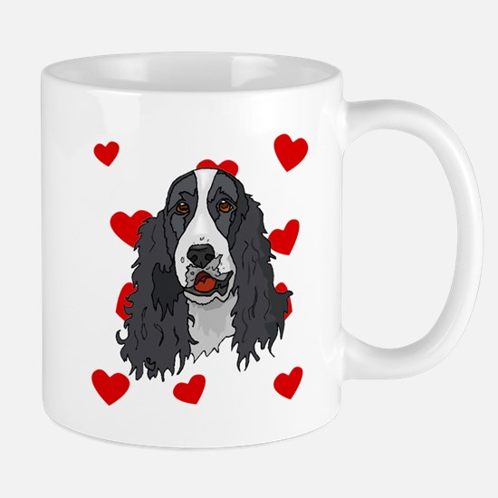 Springer Spaniel Love Mugs