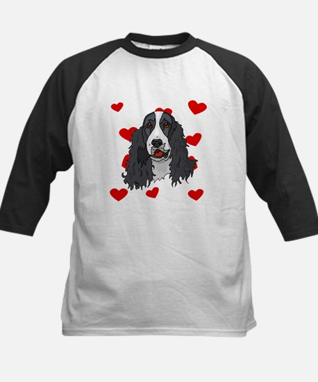 Springer Spaniel Love Baseball Jersey