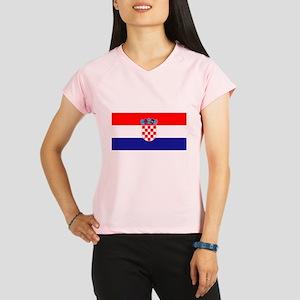Croatian flag Performance Dry T-Shirt