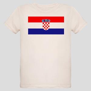 Croatian flag Organic Kids T-Shirt