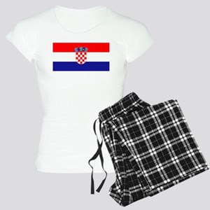 Croatian flag Women's Light Pajamas