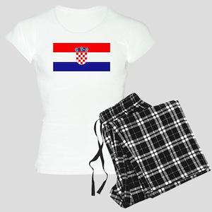 Croatian flag Women's Light Pajamas