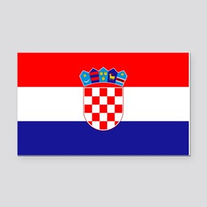 Croatian flag Rectangle Car Magnet