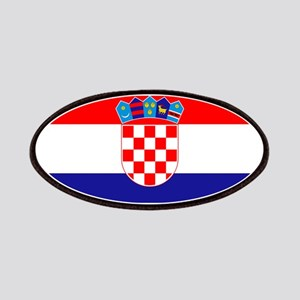 Croatian flag Patches