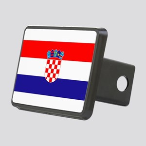 Croatian flag Rectangular Hitch Cover