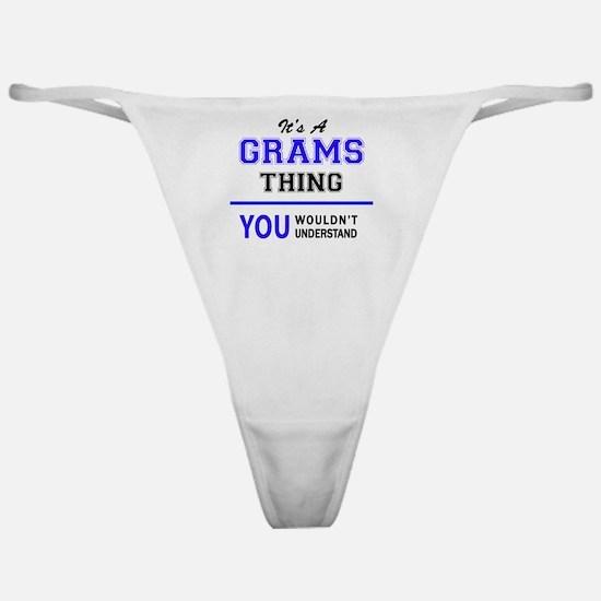 Unique Grammer Classic Thong