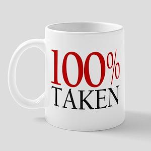 100% Taken Mug