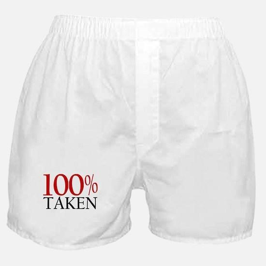 100% Taken Boxer Shorts