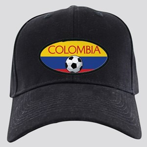 Colombia Soccer / Football Black Cap