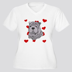 Shar Pei Love Plus Size T-Shirt
