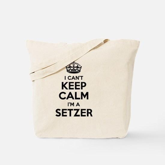 Funny Setzer Tote Bag