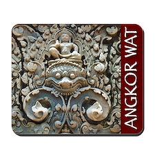 Angkor Wat Wall Mousepad