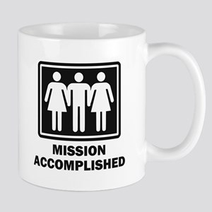 Mission Acomplished Threesome Mugs