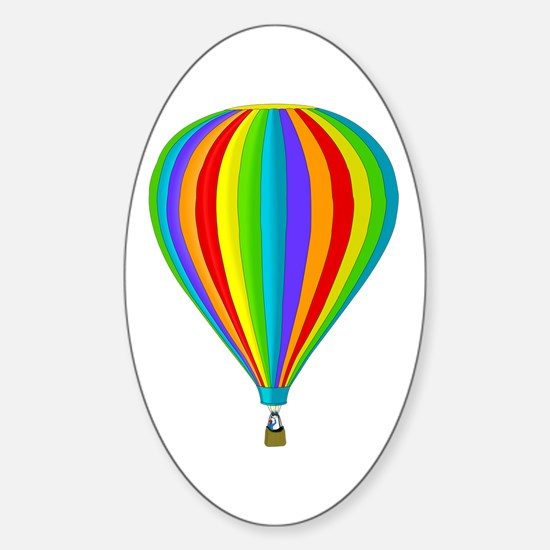 Balloon Oval Decal