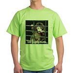 Lab Testing Hurts Green T-Shirt