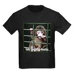 Lab Testing Hurts Kids Dark T-Shirt