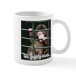 Lab Testing Hurts Mug