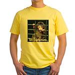 Lab Testing Hurts Yellow T-Shirt