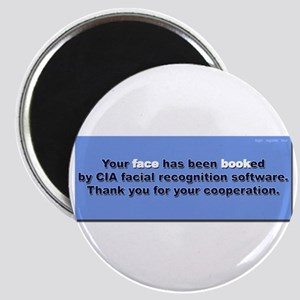 Face Booked Magnet