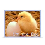 I'm Not Food Postcards (Package of 8)