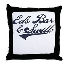 Ed's Bar & Swill Throw Pillow