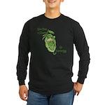 Give Peas a Chance Long Sleeve Dark T-Shirt