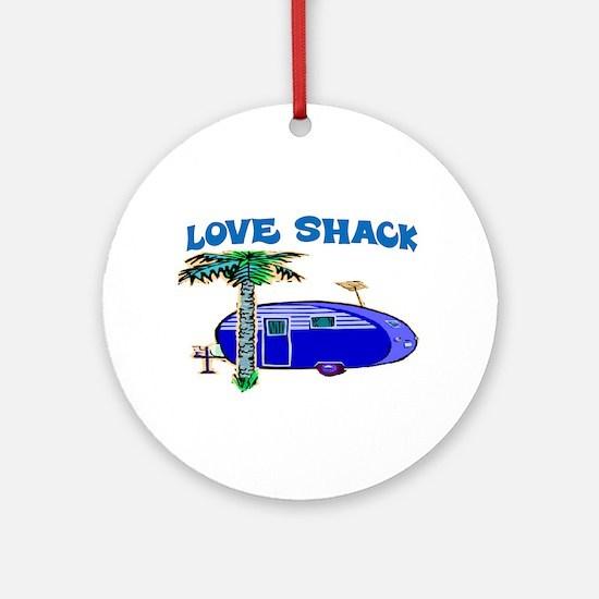 LOVE SHACK Ornament (Round)