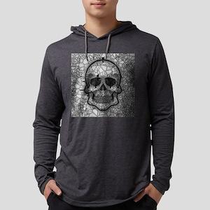 Glass mosaic Skull Long Sleeve T-Shirt