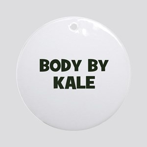body by kale Ornament (Round)